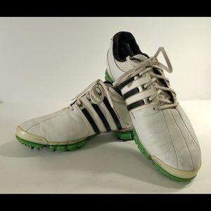 Tour360 Fit Foam White/Green/Black Golf Shoes